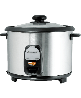 Brentwood TS-15 8-Cup (1.5 Liter) Stainless Steel Rice Cooker