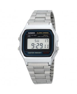 Casio A158W-1 Classic Digital Water Resistant Watch