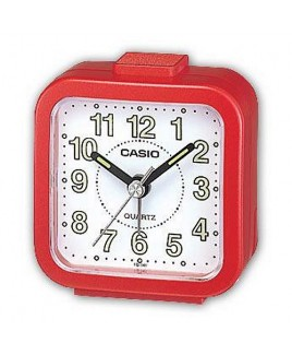 Casio TQ141 Alarm Clock - Red