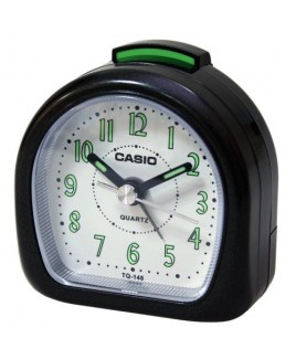 Casio TQ148 Travel Alarm Clock with Neo Display