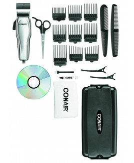 Conair HC200GB Custom Cut® 21-Piece Haircut Kit with Case
