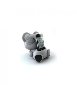 IMPECCA AS602 Koala Character Shaped 6 Watt iPod Docking Speaker