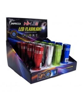 IMPECCA Hi-Lite 9-LED Flashlight, 16-piece Display Box