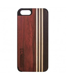Eco Shield Natural Wood Case for iPhone 6 , Forest Symphony (made of Rosewood, Maple, & Ebony)