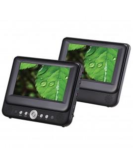 Sylvania 7-inch Dual Screen Portable DVD Player