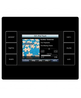 Uniden Universal Remote Control In Wall Network Touch Screen