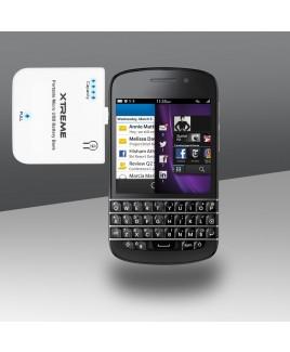 Xtreme 1900mAh 1.9 Amp Portable MicroUSB Rapid Charger, White