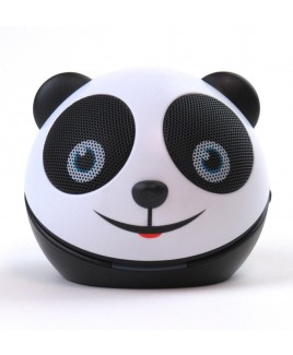 Zoo-Tunes Amanda-the-Panda Compact Portable Character Stereo Speaker