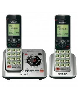 Vtech DECT6.0 2-Handset Caller ID Cordless Speakerphone with Digital Answerer