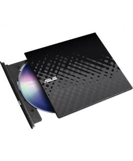 Asus SDRW08D2S External Slim USB Powered DVD Writer (Black)