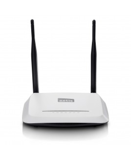 netis 300Mbps Wireless N Router with 2x 5dBi Antennas