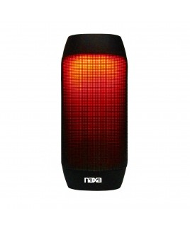 Naxa Bluetooth Speaker and MP3 Player with LED Lighting Effects