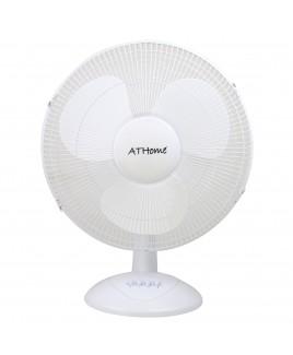ATHome 16 Inch Desk Fan White