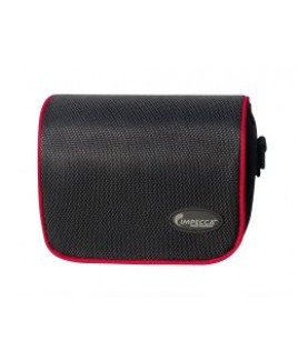 IMPECCA DCS100 Digital Camera Case for G10/G11 Black with Red Trim