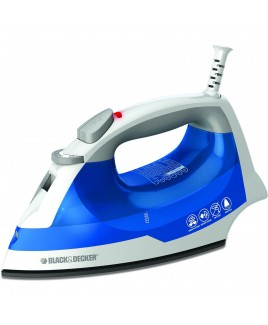 Black & Decker Easy Steam Iron with Nonstick soleplate
