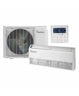 IMPECCA 22,800 BTU Fixed Series Floor/Ceiling Indoor Unit and 29,000 BTU Outdoor Split Unit with Inverter Technology