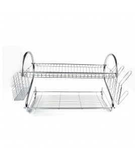 Cookinex 2 Tier Jumbo Dish Rack with Cutlery Holder
