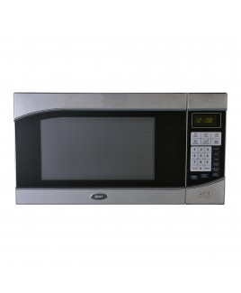 Oster 0.9 Cu. Ft. Digital Countertop Microwave Stainless Steel