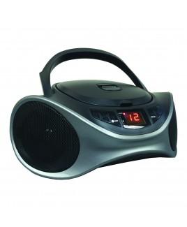 Sylvania Bluetooth Portable CD AM/FM Radio Boombox - Graphite