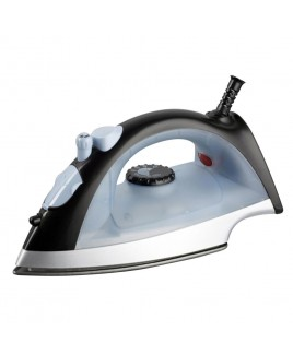 Cookinex 1200 Watts Full Function Steam Iron White and Black