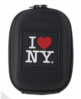 I Love NY DCS45 Hard Compact Camera Case Black
