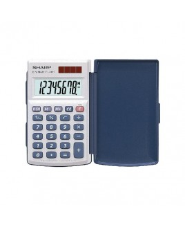 Sharp EL-243SB Hand-Held Calculator with Extra-Large Display