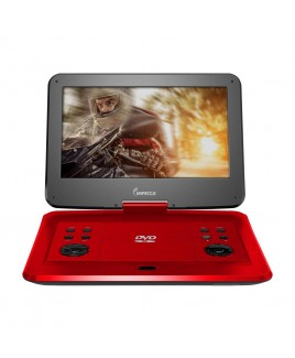 IMPECCA Portable DVD Player with 13.3-inch 180-degree Widescreen LCD, Scarlet Dynamite