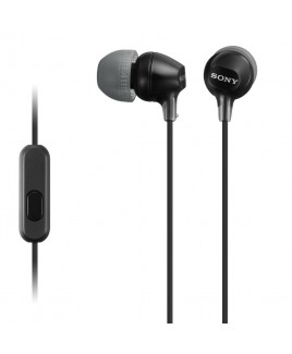 Sony EX Monitor Headphones with In-line Mic, Black