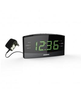 Sylvania Bluetooth PLL Clock Radio with  1.8 inch Jumbo Display