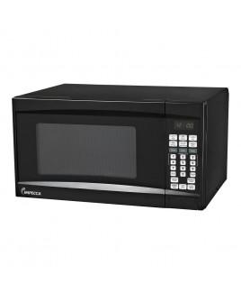 IMPECCA 0.7 CU. FT. 700 Watt Countertop Microwave Oven, Black
