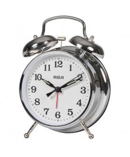 RCA Quartz Bell Clock Alarm