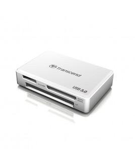 Transcend RDF8 USB 3.0 Multi Card Reader, White