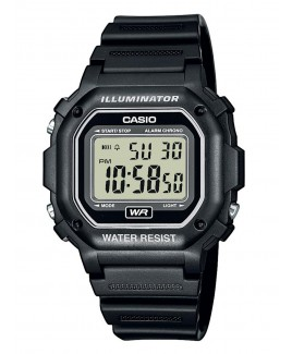 Casio F108WH 30m Water Resistance Digital Watch with Black Resin Strap