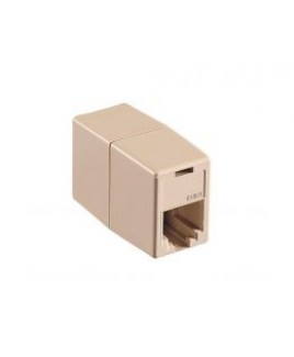 AT&T Telephone Line Cord Coupler Joins Two 4-Conductor Line Cords