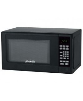 Sunbeam SGC7702 0.7CU. FT. 700watts Compact Digital Microwave Oven BLACK