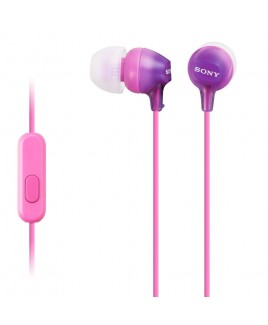 Sony EX In-Ear Stereo Headphones with In-line Mic, Violet