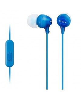 Sony EX In-Ear Stereo Headphones with In-line Mic, Blue