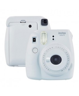 FujiFilm instax mini 9 Instant Film Camera, Smokey White