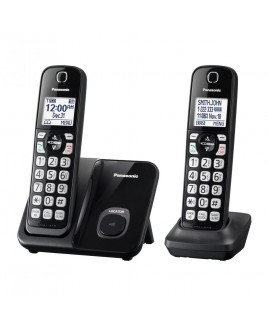 Panasonic 2-Handset Expandable DECT6.0 Cordless Phone with Call Block
