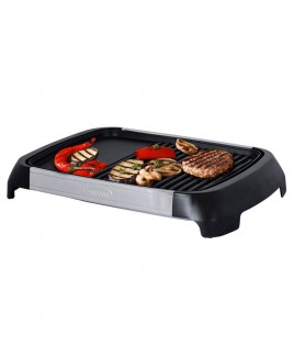 Brentwood Select 1200 Watt Electric Indoor Grill & Griddle, Stainless Steel