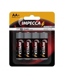 IMPECCA Alkaline AA LR06 Platinum Batteries 4-Pack