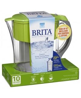 Brita Grand 10-Cup Pitcher, Green