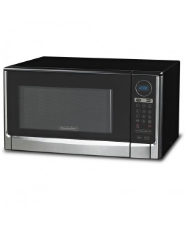 Proctor Silex 1100W 1.6 CU.FT. Steel Microwave Oven with Touch Pad Controls, Stainless Steel Front