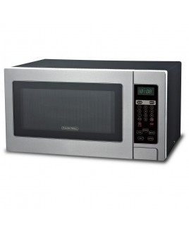 Proctor Silex 1000W 1.1 CU.FT. Microwave Oven with Touch Pad Controls, Stainless Steel Front