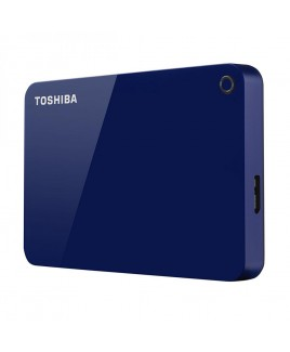 Toshiba 2TB Canvio Advance USB 3.0 Portable Hard Drive, Blue