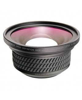Raynox Wide-angle Conversion Lens 0.7x for Panasonic AG-UCK20GJ, HC-WFX991K, HC-VX981K, HC-VXF-999, HC-VX989 4K Camcorders