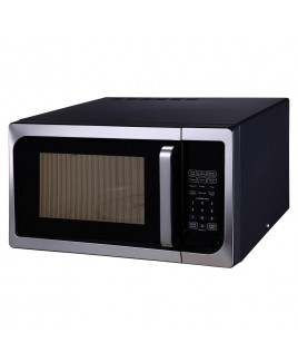 IMPECCA 0.9 Cu. Ft. 900W Countertop Microwave Oven, Stainless Steel Front