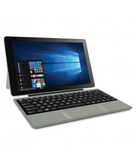 RCA Cambio 10.1-inch 2-in-1 32GB Tablet with Windows 10 with Keyboard, Silver