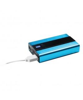 Craig Portable 6600mAh Dual USB Power Bank with Flashlight