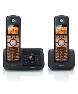 Motorola DECT 2-Handset Digital Cordless Phone with Answering